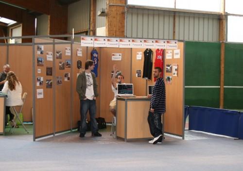 Stand QPS au Forum des Clubs de Quimper