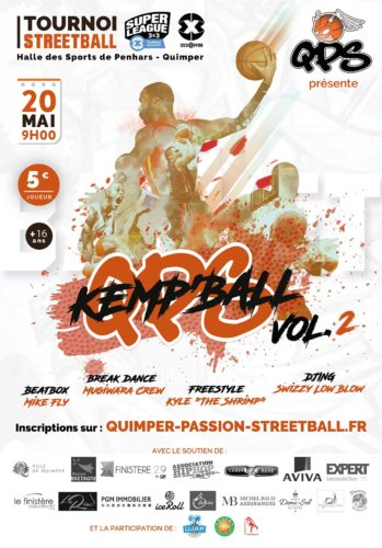 Affiche QPS KEMP'BALL Vol.2