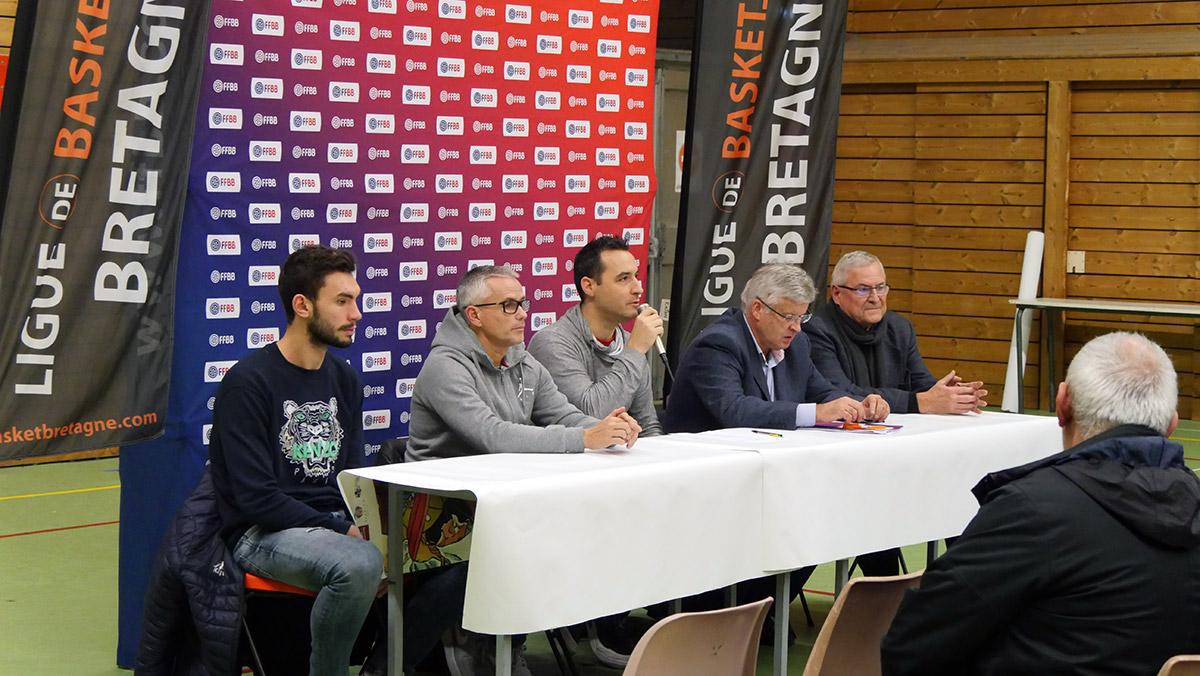 """Conférence de presse """"QPS - 1ER CLUB 3X3 DE FRANCE"""" du 29/11/2018 - Yohann LE DU"""