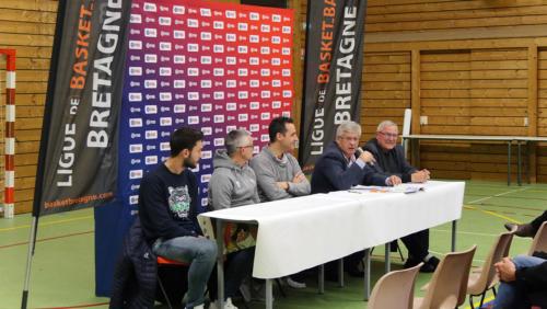 """Conférence de presse """"QPS - 1ER CLUB 3X3 DE FRANCE"""" du 29/11/2018 - Alain GUILLOU"""