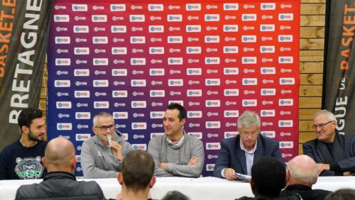 """Conférence de presse """"QPS - 1ER CLUB 3X3 DE FRANCE"""" du 29/11/2018 - Jérome PRIGENT"""