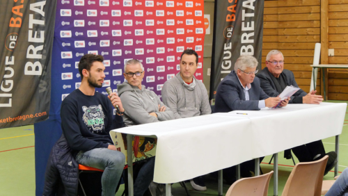 """Conférence de presse """"QPS - 1ER CLUB 3X3 DE FRANCE"""" du 29/11/2018 - Lucas DUSSOULIER"""